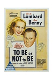 To Be Or Not To Be  1942  Directed by Ernst Lubitsch