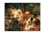 Death of Sardanapalus  1827