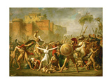 The Intervention of the Sabine Women  1799