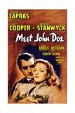 """Frank Capra's 'meet John Doe'  1941  """"Meet John Doe"""" Directed by Frank Capra"""