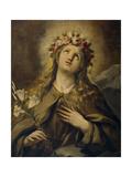 Saint Rosalia  Ca 1697  Italian School