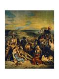 The Massacre At Chios  1824