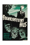"""Chamber of Horrors  1944  """"House of Frankenstein"""" Directed by Erle C Kenton"""
