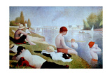 Bathers At Asnieres  1884  French School