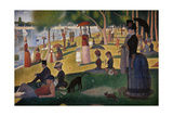 A Sunday Afternoon On the Island of La Grande Jatte  1884-1886