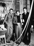 "Cary Grant  Frank Capra  James Stewart ""The Philadelphia Story"" 1940  Directed by George Cukor"