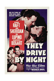 "The Road To Frisco  1940 ""They Drive by Night"" Directed by Raoul Walsh"