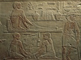 Egypt  Cairo  Ancient Memphis  Saqqara  Relief of Working Weavers