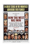 How the West Was Won  1962  by George Marshall  John Ford  Richard Thorpe  Henry Hathaway