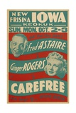 Carefree  1938  Directed by Mark Sandrich