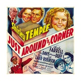 """Shirley Temple in """"Just Around the Coner"""""""