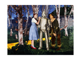 "Jack Haley  Judy Garland  Ray Bolger ""The Wizard of Oz"" 1939  Directed by Victor Fleming"