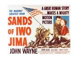 """John Wayne in """"Sands of Iwo Jima"""""""