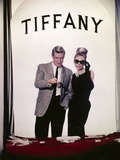 "Audrey Hepburn  George Peppard ""Breakfast At Tiffany's"" 1961  Directed by Blake Edwards"