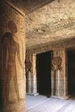 Nubian Monument Dedicated to Goddess Hathor at Temple of Nefertar