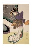 Courtesan  1810-1820  Japanese School