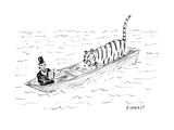 Lincoln faces off against Life of Pi - Cartoon
