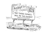 The Third Chance will be the Charm! - Cartoon
