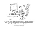 """At first  when he won I was all happy and relieved that it was finally ov…"" - Cartoon"