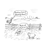 Farm animals shout the names of newly released movies - Cartoon
