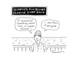 Elusive Giant Squid - Cartoon