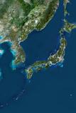 Satellite Image of Japan