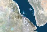 Satellite Image of Eritrea