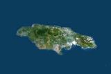 Satellite Image of Jamaica