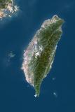 Taiwan  True Colour Satellite Image