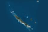Satellite Image of New Caledonia