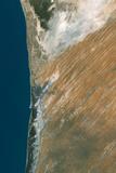 Satellite Image of Nouakchott  Mauritania