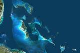Satellite Image of the Bahamas