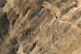 Satellite Image of Aouelloul Meteor Impact Crater  Mauritania