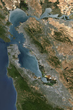 Satellite Image of San Francisco