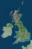 Satellite Image of United Kingdom