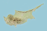 Cyprus  Relief Map