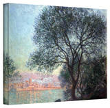 Claude Monet 'Antibbes' Wrapped Canvas Art