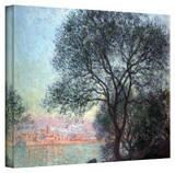 Claude Monet 'Antibbes' Wrapped Canvas Art