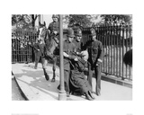Police and a Suffragette 1913