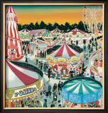 The Fair (Gouache on Paper)