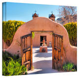 Steve Ainsworth 'Gate to Chimayo' Gallery-Wrapped Canvas