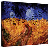 Vincent van Gogh 'Wheatfield with Crows' Wrapped Canvas Art