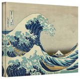 Katsushika Hokusai 'The Great Wave of Kanagawa' Gallery Wrapped Canvas