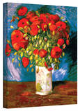 Vincent van Gogh 'Poppies' Wrapped Canvas Art