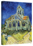Vincent van Gogh 'The Church at Auvers' Wrapped Canvas Art