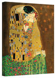 Gustav Klimt 'The Kiss' Gallery Wrapped Canvas