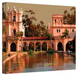 George Zucconi 'Lily Pond  Balboa Park' Wrapped Canvas