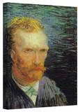 Vincent van Gogh 'Self Portrait' Wrapped Canvas Art