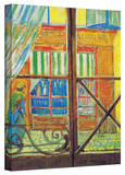 Vincent van Gogh 'Pork-Butchers Shop Through The Window' Wrapped Canvas Art