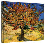 Vincent van Gogh 'The Mulberry Tree' Wrapped Canvas